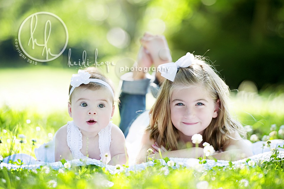 Baby And Big Sister Rhode Island And Massachusetts Family Portrait Photographer