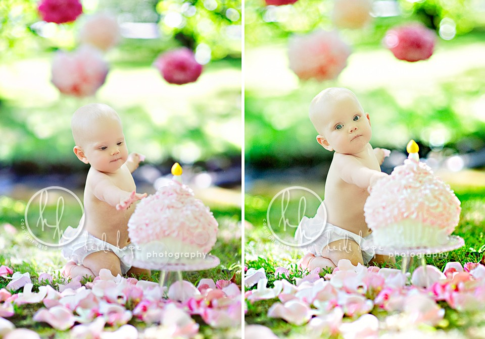 Pics photos smash the cake cari 1st birthday baby photographer