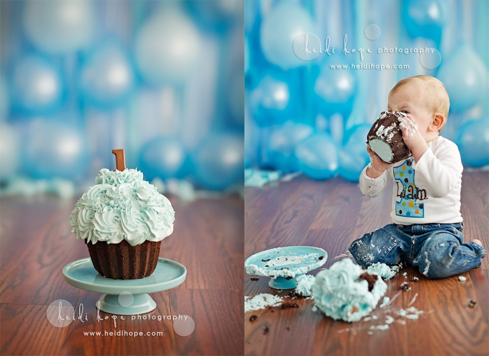L s first birthday cake smash session. Rhode Island and ...