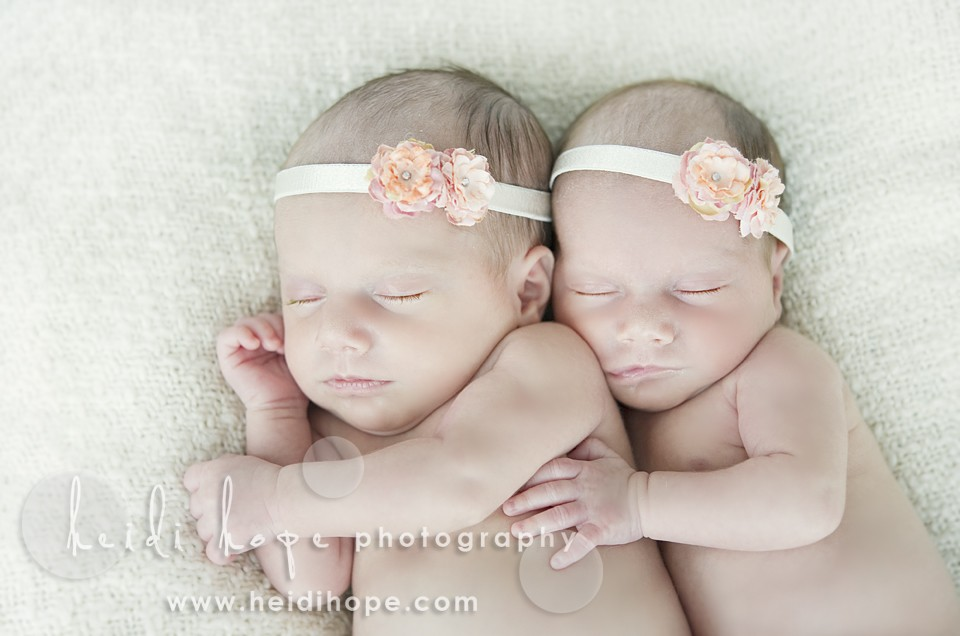 Newborn twin sisters M and I. Rhode Island and Massachusetts ...