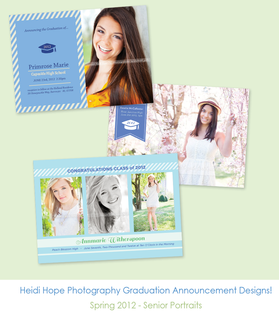 graduation announcements senior portrait rhode island massachusetts photography