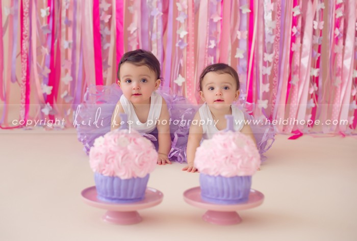 Happy birthday K and S! 1 year old twins celebrate their ...