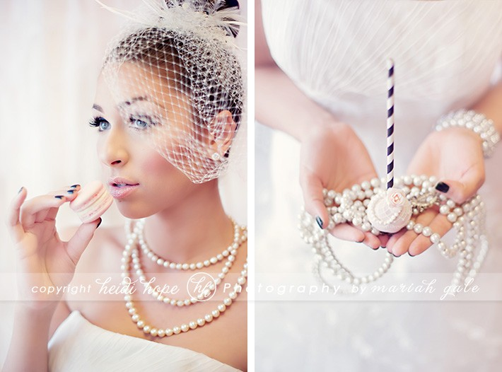 Heidi Hope Photography - Bride Holding Sweets