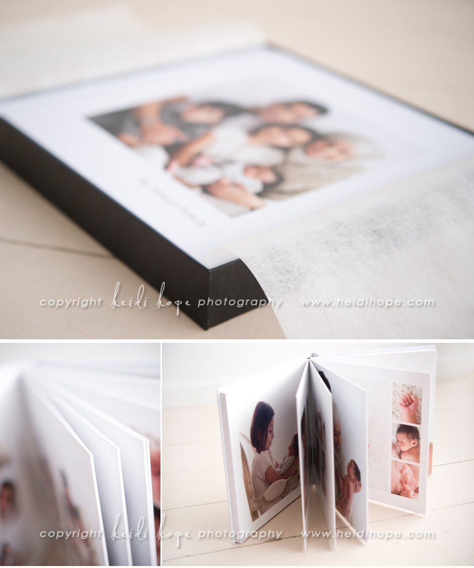 fine art portrait album example by new england portrait photographer