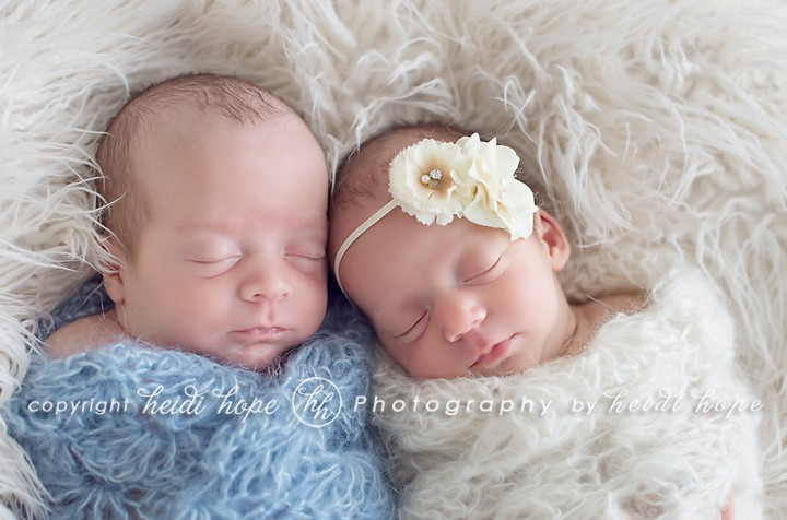 Boston Newborn Twin Photographer