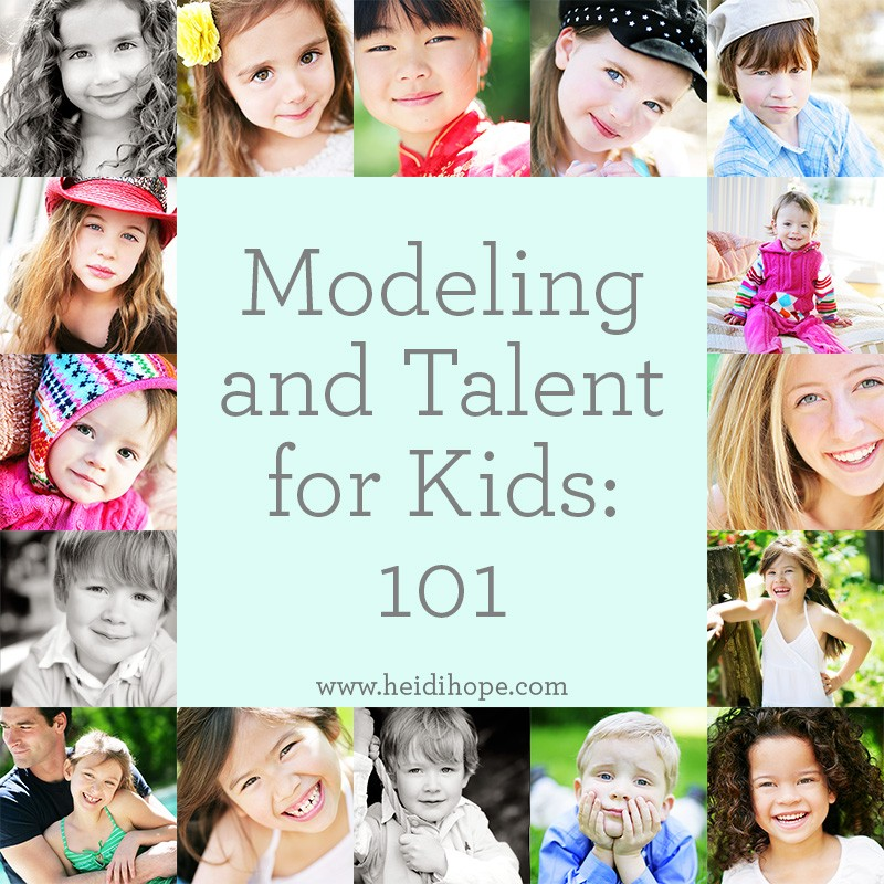 How to get your kids into modeling and acting!