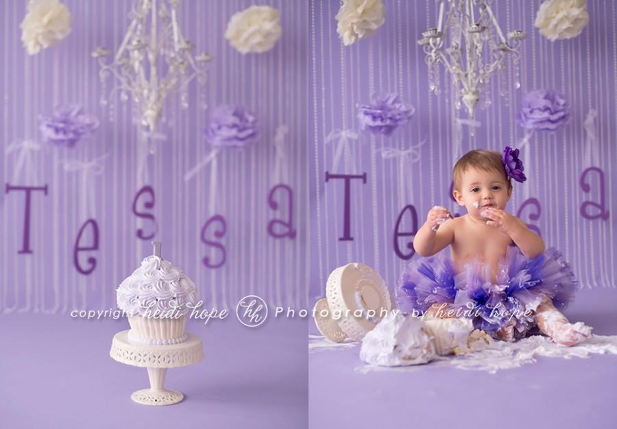 Happy First Birthday Baby T Massachusetts Cake Smash