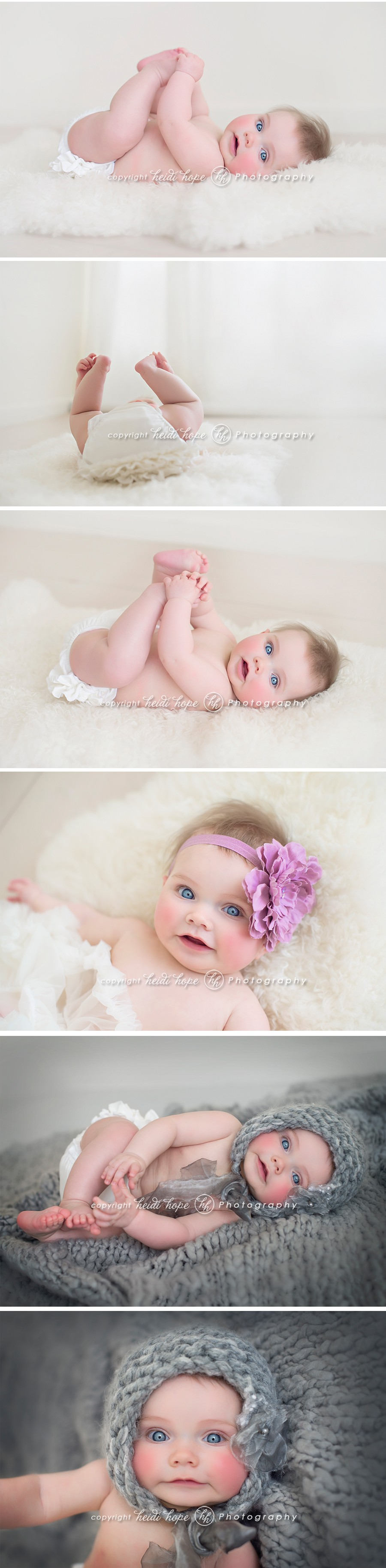 boston baby photographer 6 month portraits