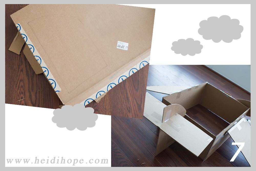 dboard box airplane tutorial