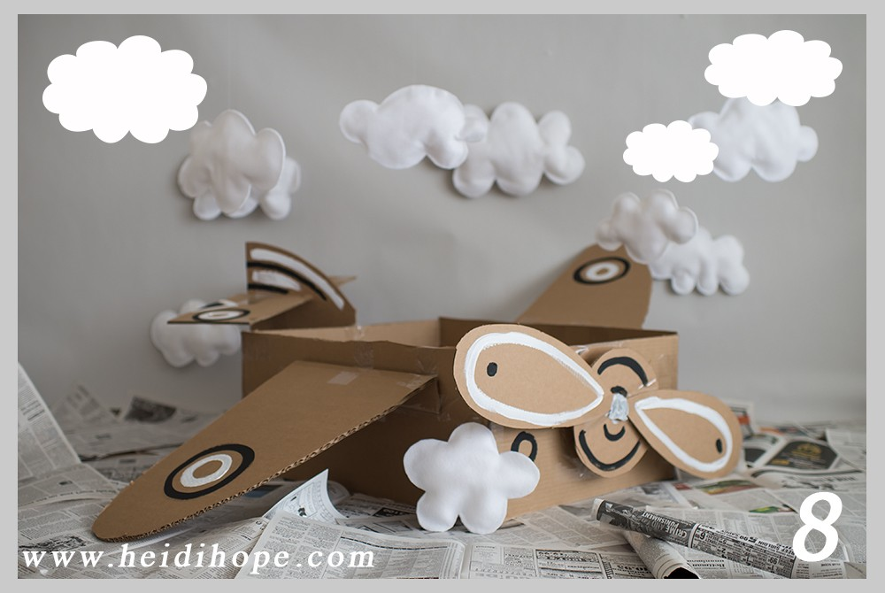 dboard box airplane photo prop tutorial