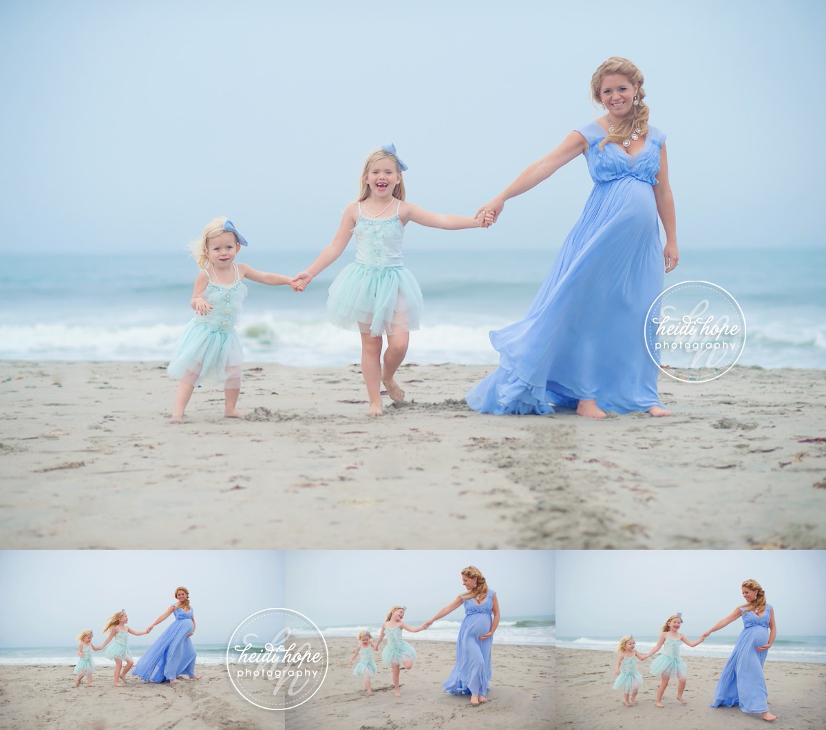 Our Maternity Session On The Beach In Rhode Island