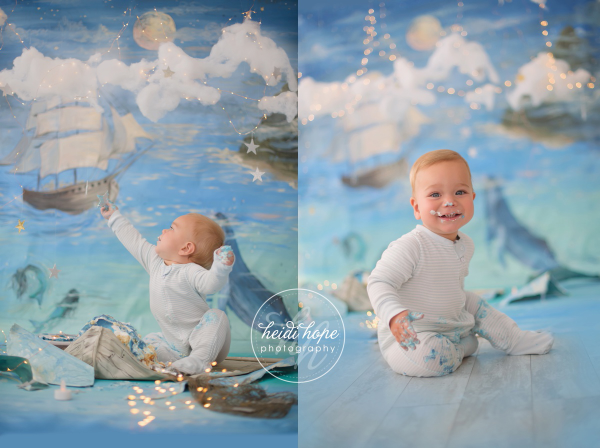 land of nod nautical peter pan magical background first birthday cakesmash01 (13)