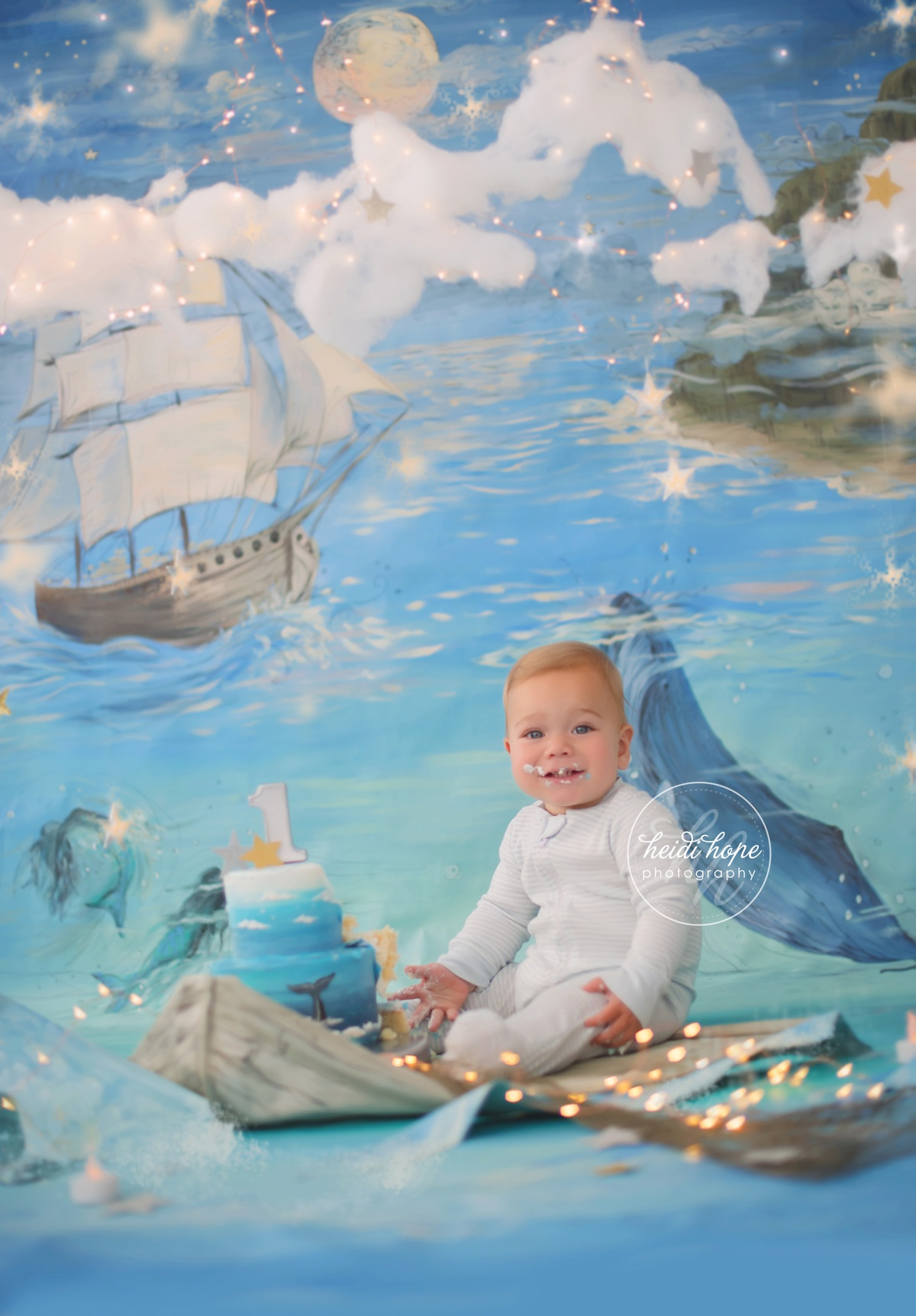 land of nod nautical peter pan magical background first birthday cakesmash01 (9)