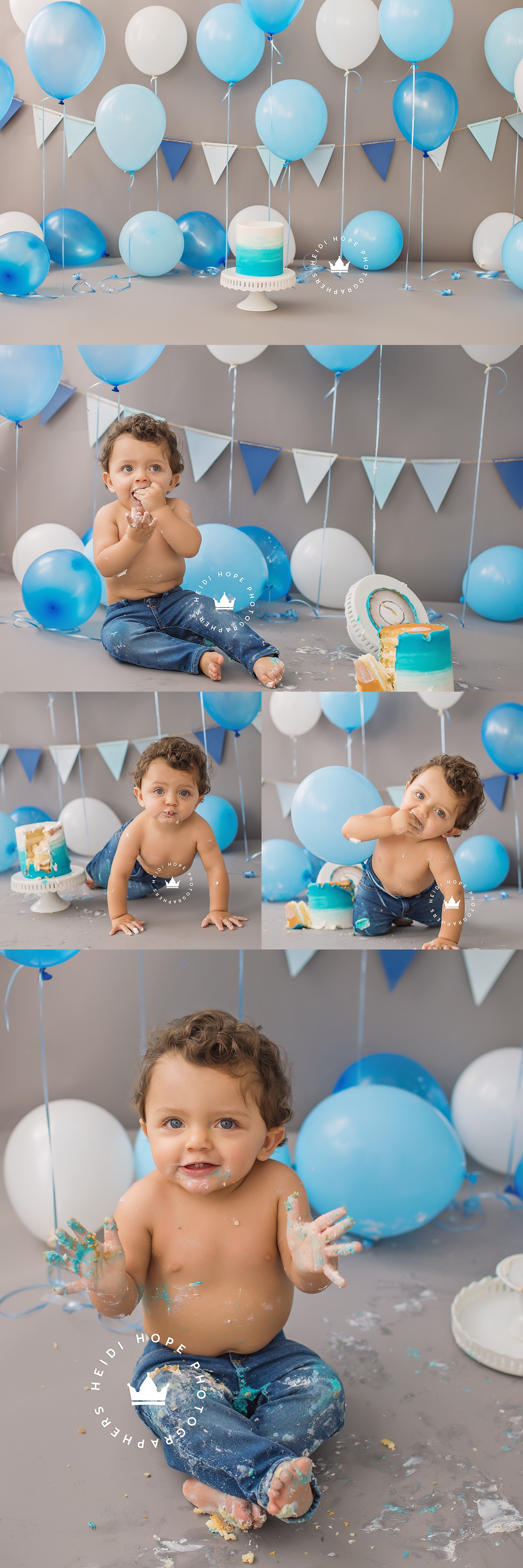 heidi hope first birthday photography