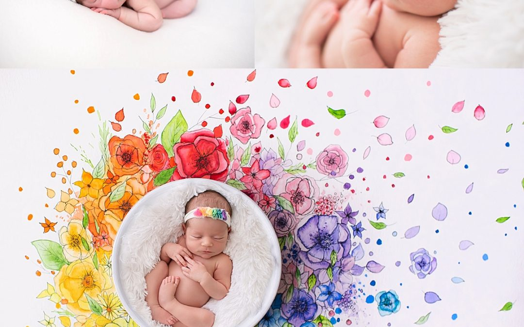 Sleeping Princess, A Snow White inspired newborn session, baby makes 5!