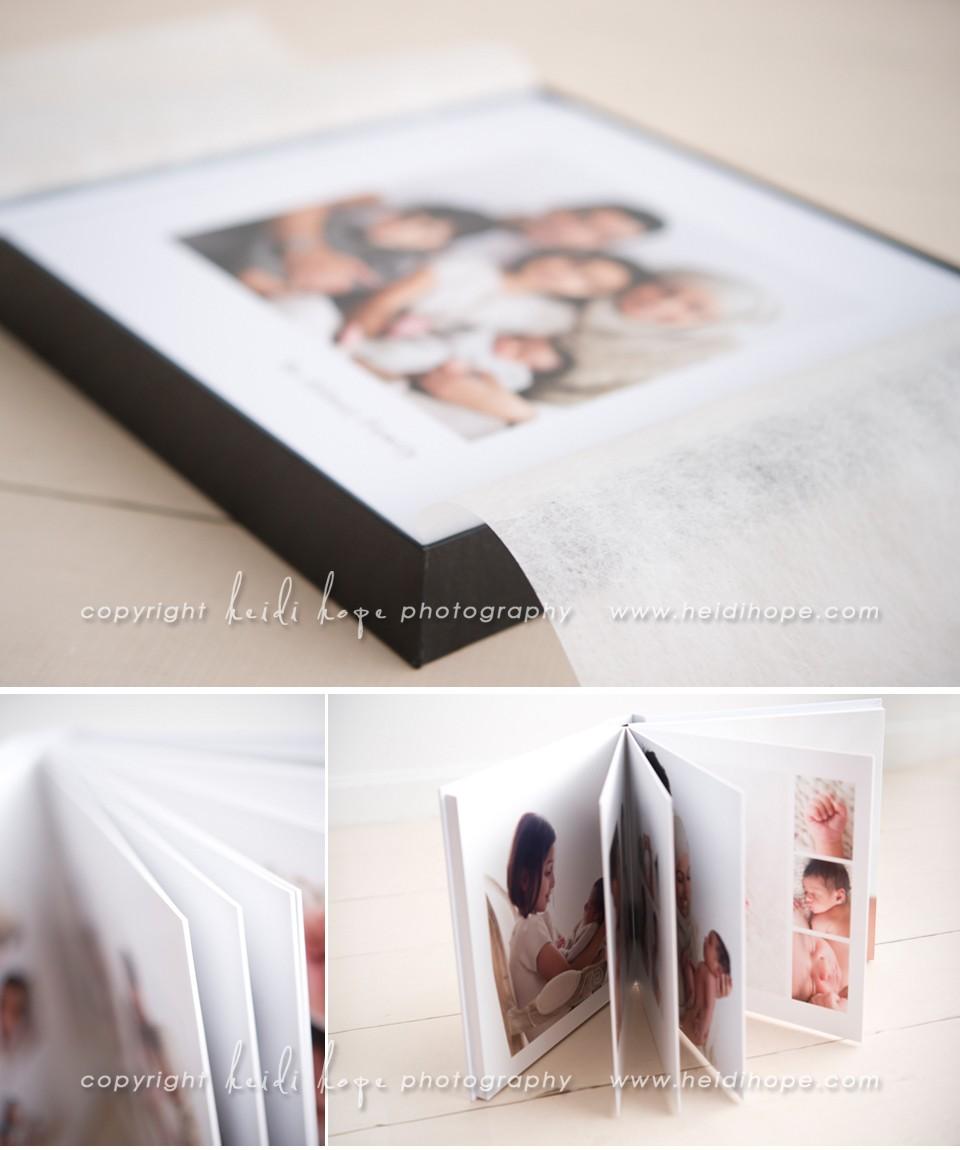 fine art portrait album example by new england portrait photographer